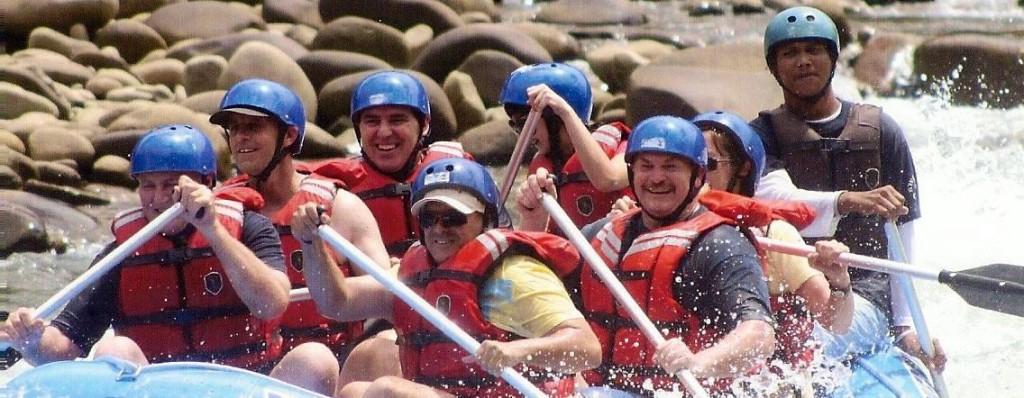White Water Rafting Sabah