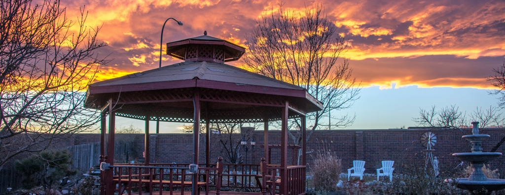 Sunset in Westminster, Colorado