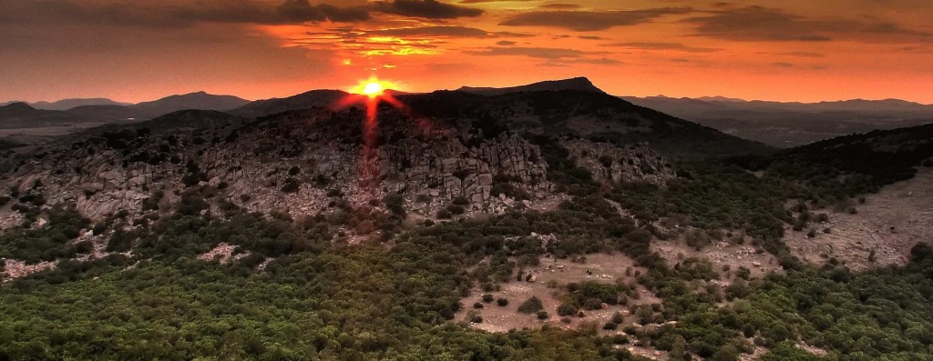 Mt. Scott's Boy and Mt. Sheridan, Wichita Mountains, Oklahoma