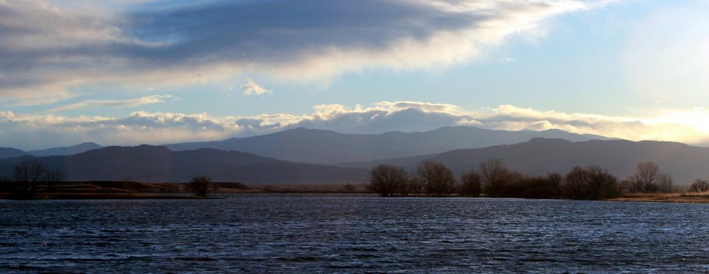 Mountain View Across the Lake